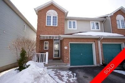 Ottawa Townhouse for sale:  2 bedroom  (Listed 2013-03-18)