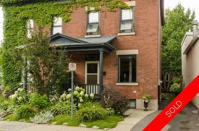 Byward market semi detached for sale:  3 bedroom  Hardwood Floors  (Listed 2014-07-30)
