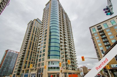 Sandy Hill / Byward Market Apartment for sale: Claridge Plaza 4 1 Bed + Den  Stainless Steel Appliances, Hardwood Floors 660 sq.ft. (Listed 2016-11-22)