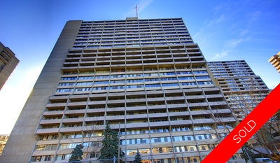 Centretown Condominium for sale: Queen Elizabeth Towers 2 bedroom  (Listed 2011-04-08)
